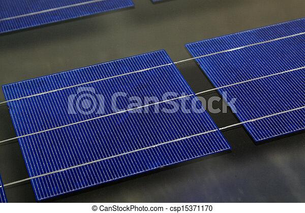 Solar photovoltaic panels - csp15371170