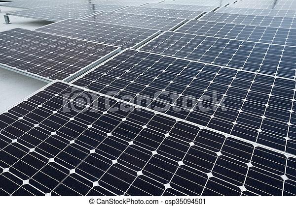 Solar power energy - csp35094501