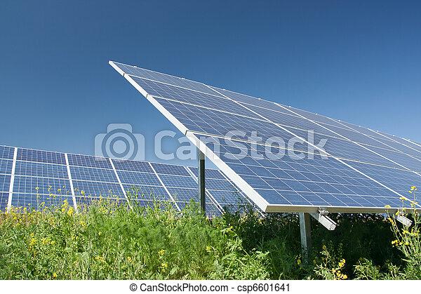 Solar power station - csp6601641