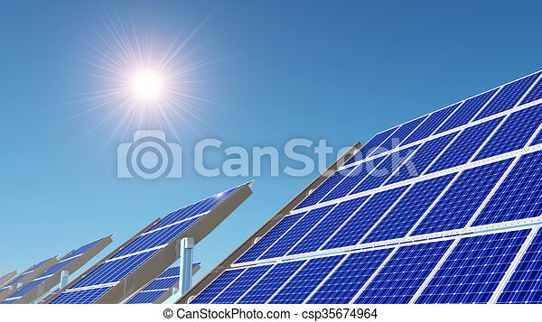 Solar power station - csp35674964