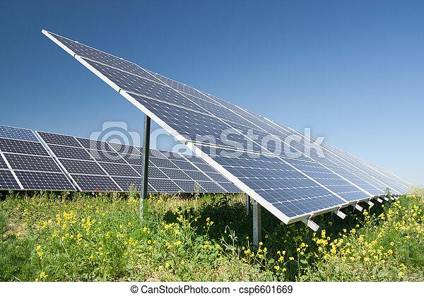 Solar power station - csp6601669