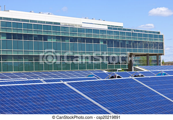 Solar Powered Office  - csp20219891