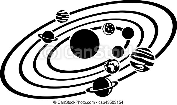 solar system clipart vector search illustration drawings and eps rh canstockphoto com solar system clipart images solar system clipart not colored page