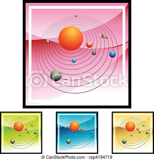 Solar System - csp4194719
