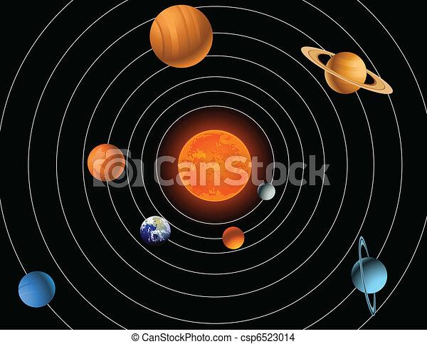 Solar system - csp6523014