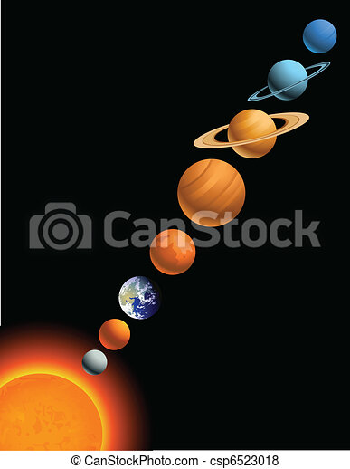 Solar system - csp6523018