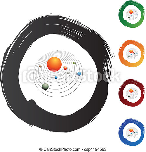 Solar System - csp4194563