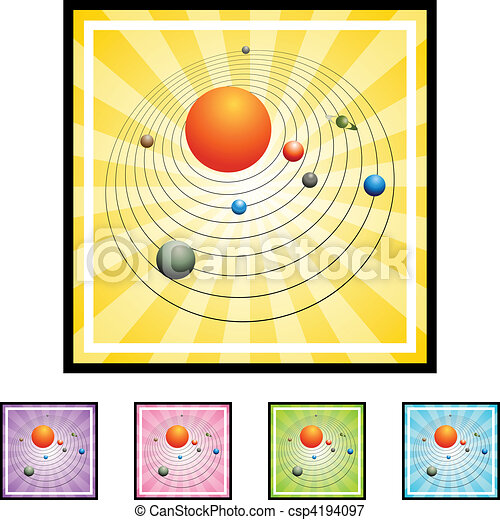 Solar System - csp4194097