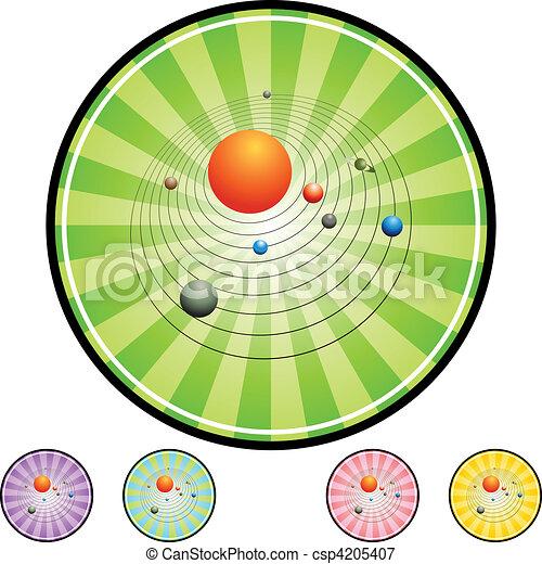 Solar System - csp4205407