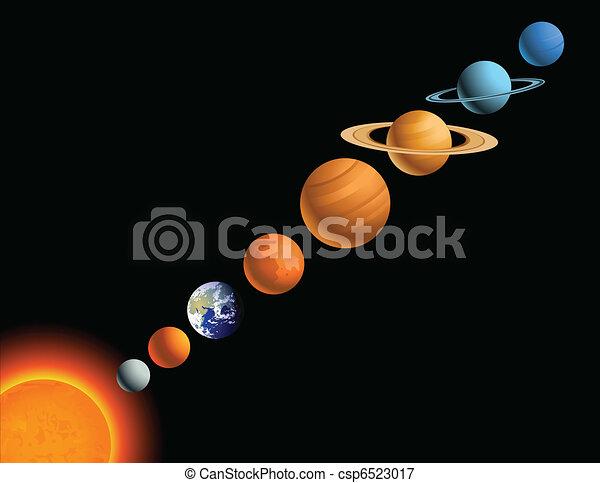 Solar system - csp6523017