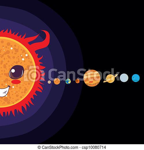 Solar System - csp10080714