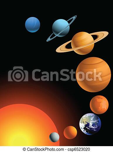 Solar system - csp6523020