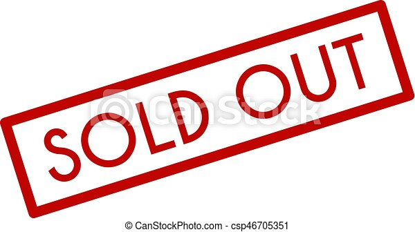 sold out icon on white background flat style clipart vector rh canstockphoto com sold out sign clipart
