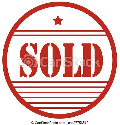 sold red stamp red stamp with text sold vector illustration vector rh canstockphoto ca sold sign clip art free sold out sign clipart