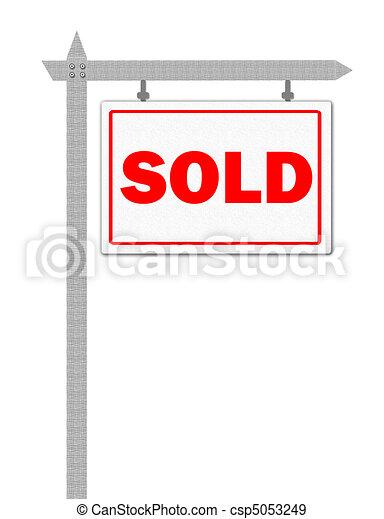 sold sign rh canstockphoto com real estate sold sign clipart real estate sold sign clipart