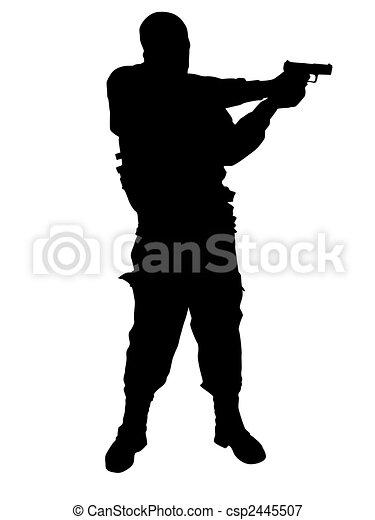 soldaat - csp2445507