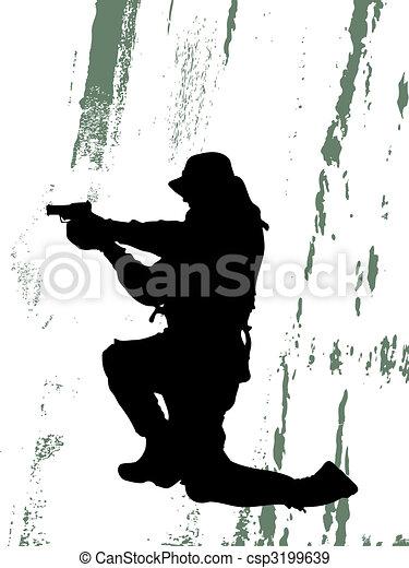 soldaat - csp3199639
