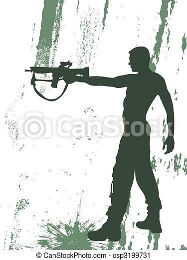 soldaat - csp3199731
