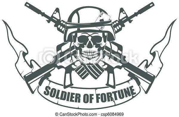 Soldado de la fortuna - csp6084969