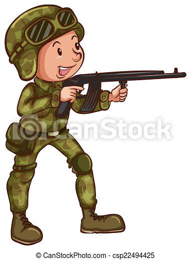 Soldado - csp22494425
