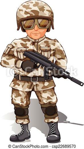 Soldado - csp22689570