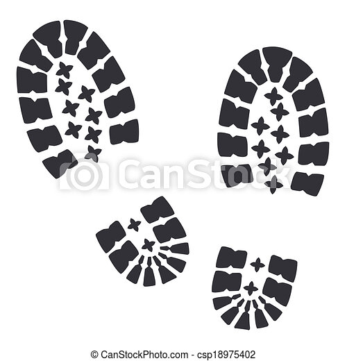soldados, botas, militar - csp18975402
