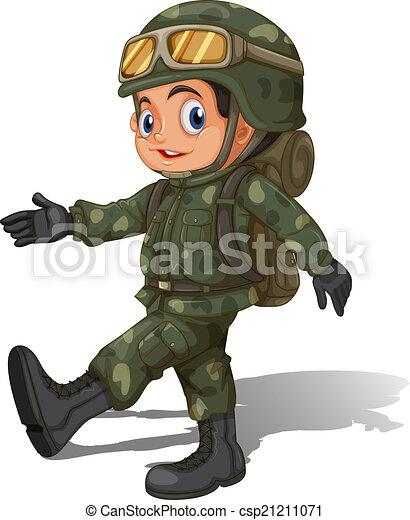 Illustrations et Cliparts de Soldat. 58 445 dessins et