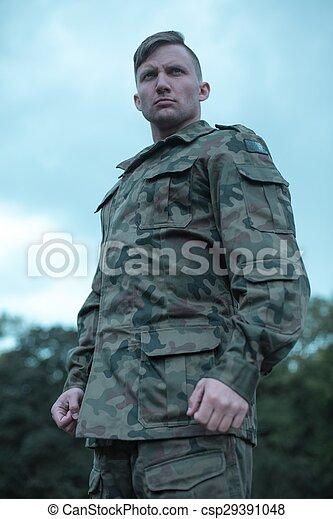 soldat, militär - csp29391048