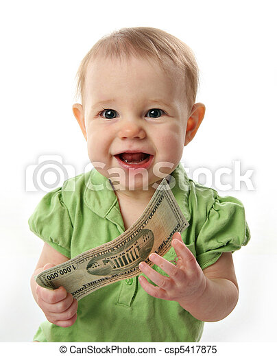 soldi, bambino - csp5417875