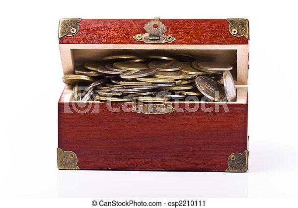 soldi, concetto, risparmio - csp2210111