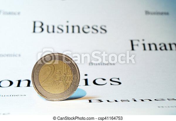 soldi, euro - csp41164753