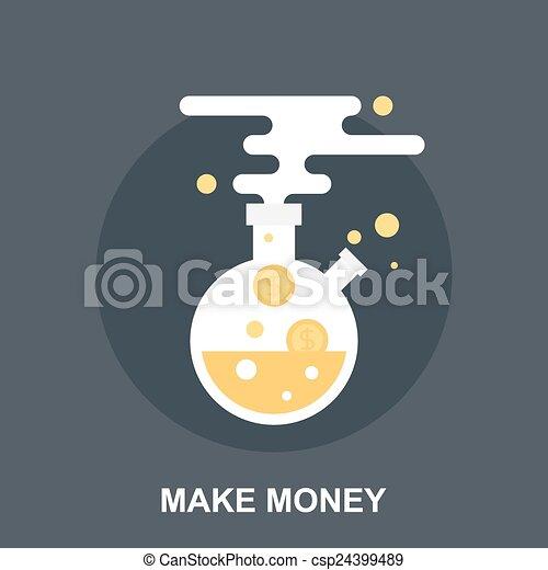 soldi, fare - csp24399489
