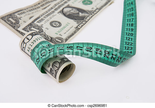 soldi, metro a nastro - csp2696981