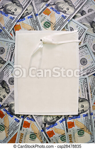 soldi, mucchio, grande - csp28478835