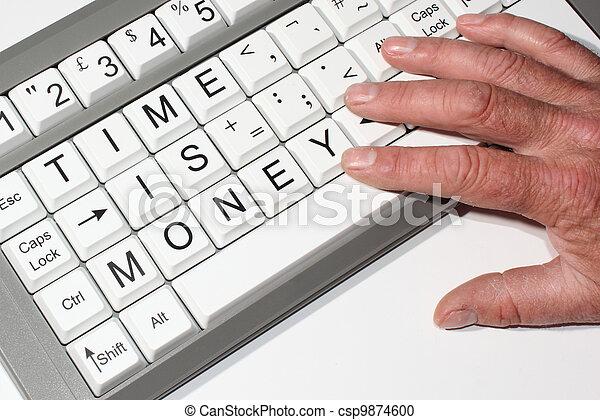 soldi, tempo - csp9874600