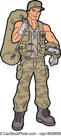 Soldier - csp14836656