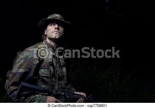soldier - csp7758601