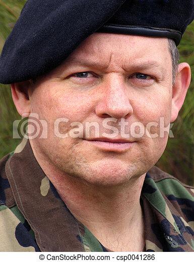 Soldier Portrait - csp0041286