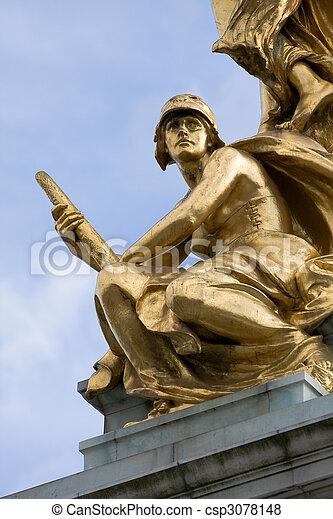Soldier statue - csp3078148