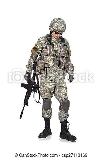 soldier - csp27113169