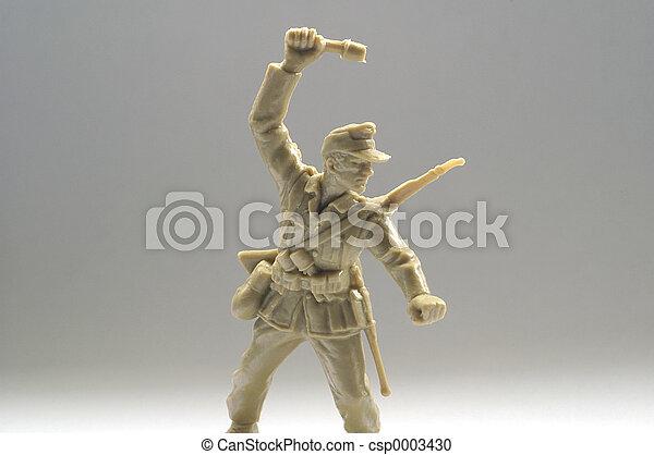 soldier toy - csp0003430