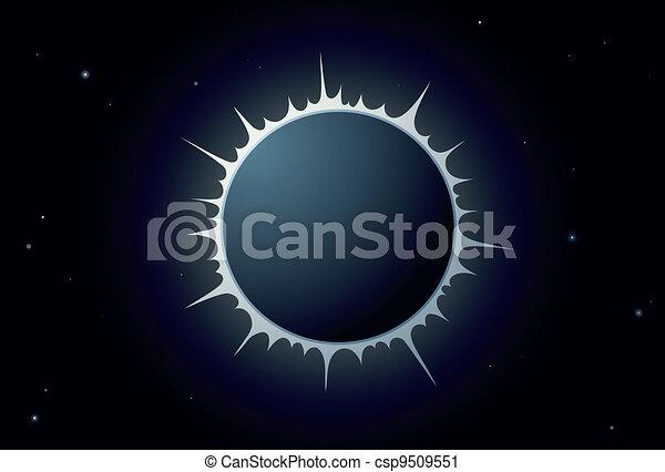 sole, eclissi - csp9509551