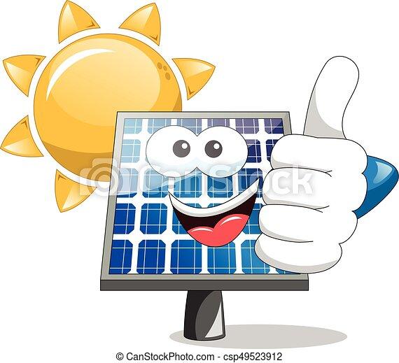 Sole pannello su solare pollice pollice sole for Immagini pannello solare
