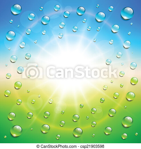 Antecedentes soleados - csp21903598