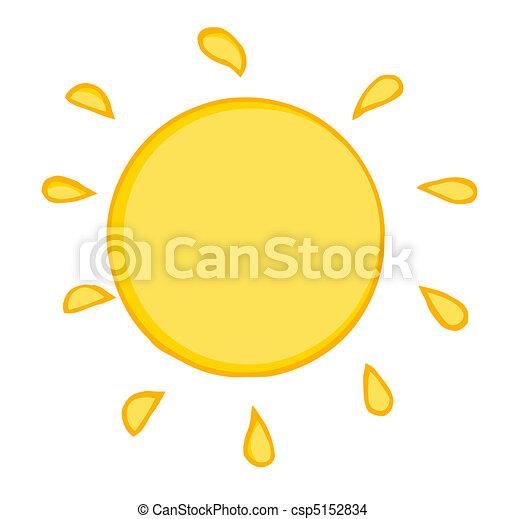 soleil, chaud - csp5152834
