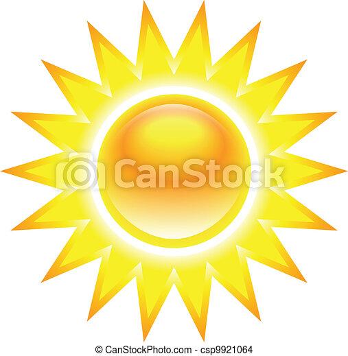 soleil, clair, brûlé - csp9921064
