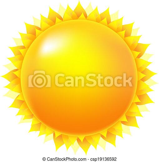 soleil, clair - csp19136592