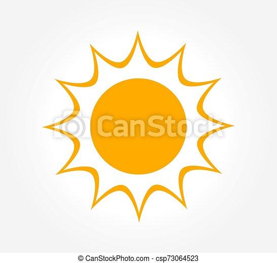 soleil, icon., briller - csp73064523