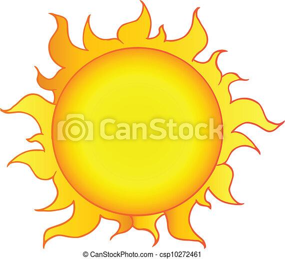 soleil, jaune, briller - csp10272461