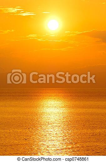 soleil, monture - csp0748861